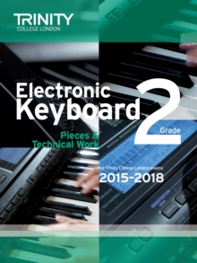 Electronic Keyboard 2015-2018 : Grade 2, Paperback Book