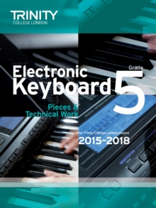 Electronic Keyboard 2015-2018 : Grade 5, Paperback Book