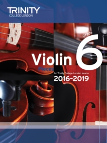Violin Exam Pieces Grade 6 2016-2019 (Score & Part), Paperback Book
