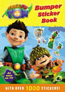 Tree Fu Tom: Bumper Sticker Book, Paperback Book