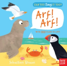 Can You Say It Too? Arf! Arf!, Board book Book