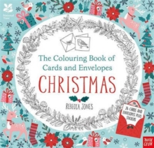 National Trust: The Colouring Book of Cards and Envelopes - Christmas, Paperback Book