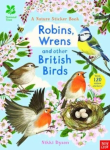 National Trust: Robins, Wrens and Other British Birds, Paperback Book