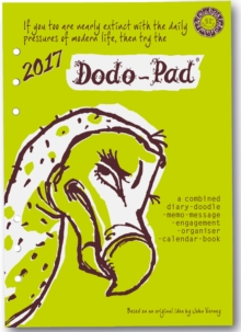 Dodo Pad Filofax-Compatible 2017 A5 Refill Diary - Week to View Calendar Year : A Combined Family Diary-Doodle-Memo-Message-Engagement-Organiser with Room for Up to 5 People's Appointments/Activities, Diary Book
