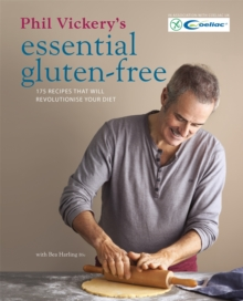 Phil Vickery's Essential Gluten Free, Hardback Book