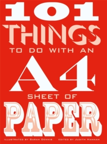 101 Things to do with an A4 Sheet of Paper, Paperback Book
