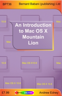 An Introduction to Mac OS X Mountain Lion, Paperback Book