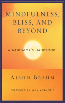 Mindfulness Bliss and Beyond : A Meditator's Handbook, Paperback Book