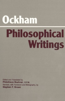 Ockham: Philosophical Writings : A Selection, Paperback Book
