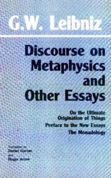 Discourse on Metaphysics and Other Essays, Paperback Book