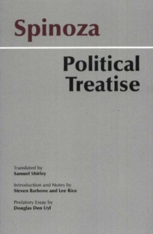 Spinoza: Political Treatise, Paperback Book