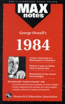 "George Orwell's ""1984"", Paperback Book"