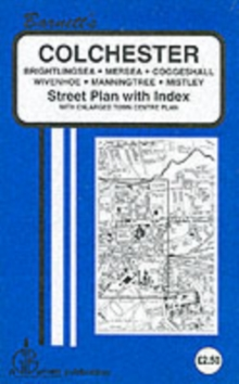 Colchester : Mersea / Wivenhoe / Brightlingsea Manningtree / Coggeshall, Sheet map, folded Book