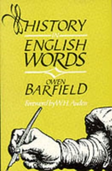 History in English Words, Paperback Book