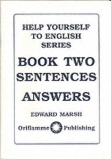 Sentences : Answers, Paperback Book