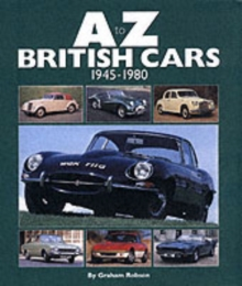 A-Z British Cars 1945-1980, Hardback Book