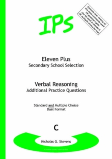 Eleven Plus / Secondary School Selection Verbal Reasoning - Additional Practice Questions : Bk. C, Paperback Book