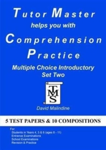 Tutor Master Helps You with Comprehension Practice - Multiple Choice Introductory Set Two, Paperback Book