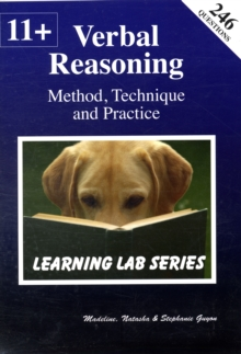 11+ Verbal Reasoning Method, Technique and Practice, Paperback Book