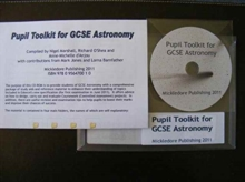 Pupil Toolkit for GCSE Astronomy, CD-ROM Book