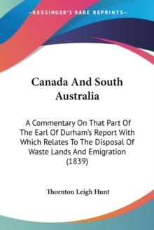 Canada And South Australia