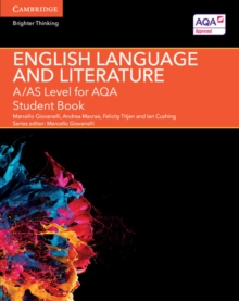 A/AS Level English Language and Literature for AQA Student Book, Paperback Book