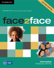Face2face Intermediate Workbook with Key, Paperback Book