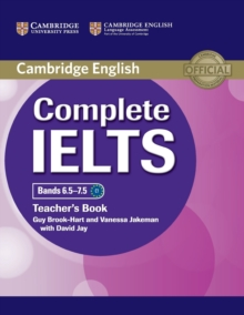 Complete IELTS Bands 6.5-7.5 Teacher's Book, Paperback Book