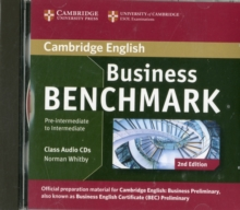 Business Benchmark Pre-intermediate to Intermediate Business Preliminary Class Audio CDs (2), CD-Audio Book
