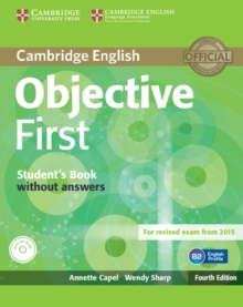Objective First Student's Book Without Answers with CD-ROM, Mixed media product Book
