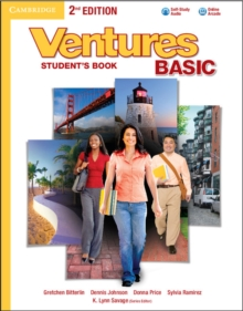 Ventures Basic Student's Book with Audio CD, Mixed media product Book