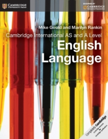 Cambridge International as and A Level English Language Coursebook, Paperback Book