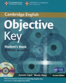 Objective Key Student's Book without Answers with CD-ROM, Mixed media product Book