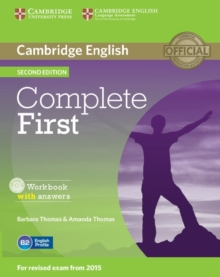 Complete First Workbook with Answers with Audio CD, Mixed media product Book