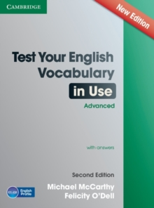 Test Your English Vocabulary in Use Advanced with Answers, Paperback Book