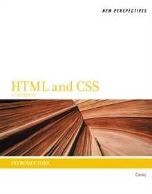 New Perspectives on HTML and CSS : Introductory, Paperback Book