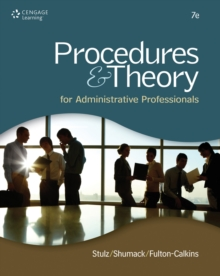 Procedures & Theory for Administrative Professionals, Hardback Book