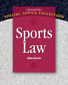 Sports Law, Paperback Book