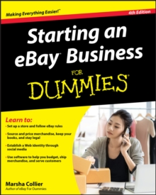 Starting an eBay Business For Dummies, Paperback Book