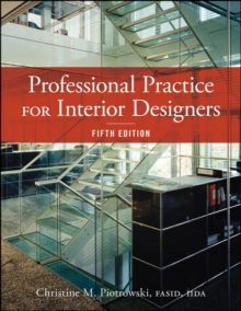 Professional Practice for Interior Designers, Hardback Book