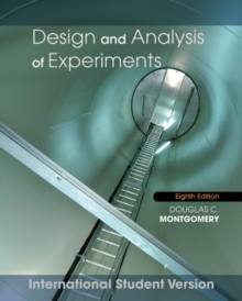 Design and Analysis of Experiments, Paperback Book