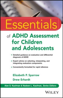Essentials of ADHD Assessment for Children and Adolescents, Paperback Book