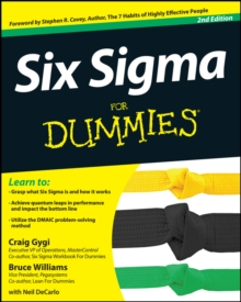 Six Sigma for Dummies, 2nd Edition, Paperback Book