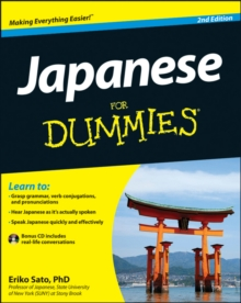 Japanese For Dummies, Paperback Book