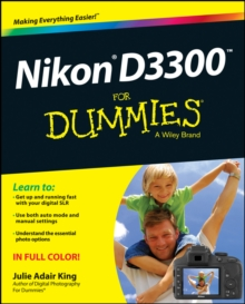 Nikon D3300 for Dummies, Paperback Book