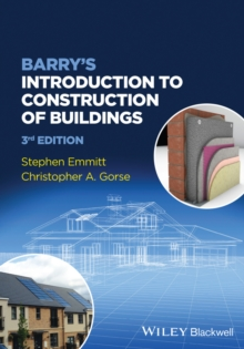 Barry's Introduction to Construction of Buildings, Paperback Book