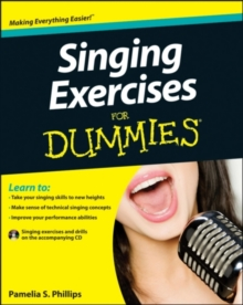 Singing Exercises for Dummies with CD, Paperback Book
