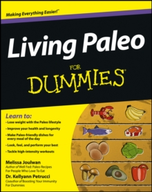 Living Paleo For Dummies, Paperback Book