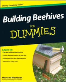 Building Beehives for Dummies, Paperback Book