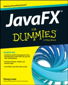 JavaFX For Dummies, Paperback Book